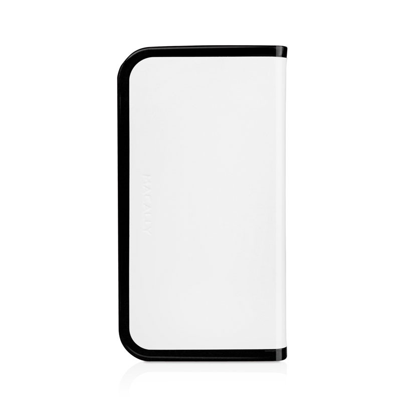 Macally Slim Folio Case iPhone 5 (White) 01