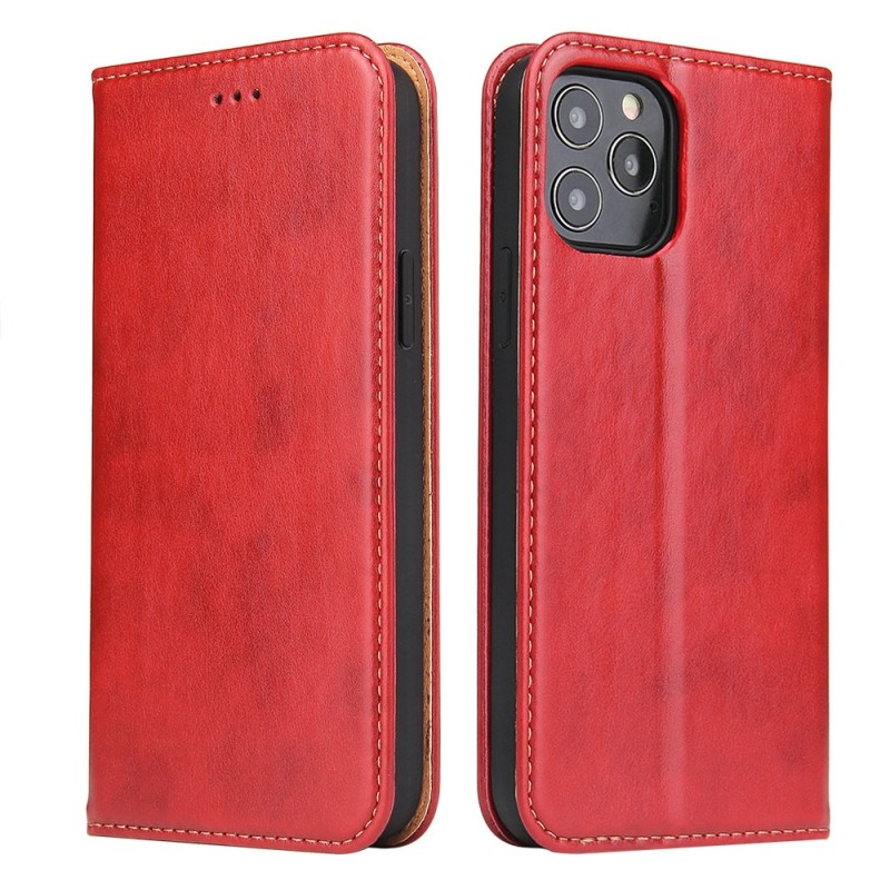 Mobiq Premium Business Wallet iPhone 12 6.1 inch Rood - 5
