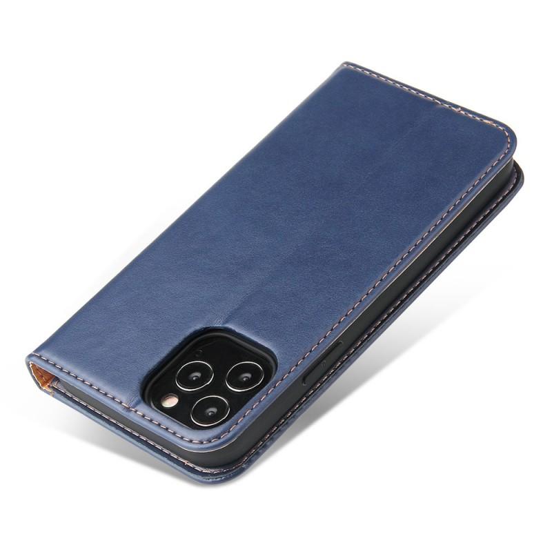 Mobiq Premium Lederen Portemonnee Hoesje iPhone 13 Mini Blauw - 4
