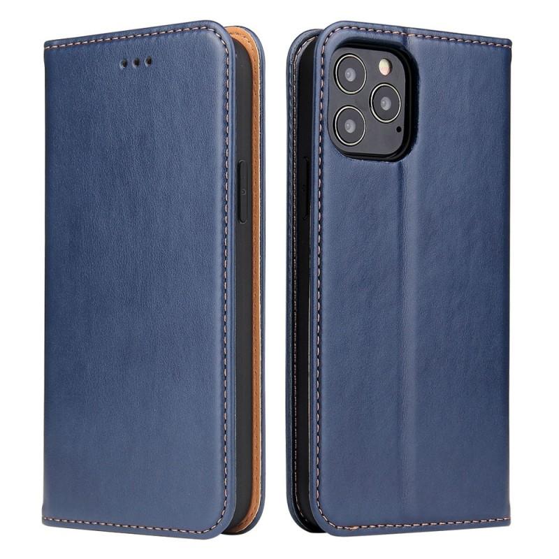 Mobiq Premium Lederen Portemonnee Hoesje iPhone 13 Mini Blauw - 5