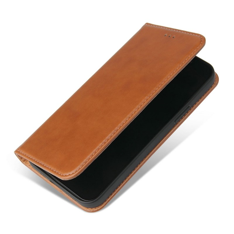 Mobiq Premium Lederen Portemonnee Hoesje iPhone 13 Mini Bruin - 4