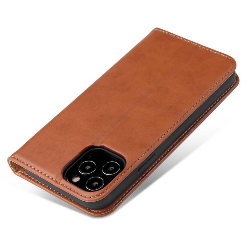 Mobiq Premium Lederen Portemonnee Hoesje iPhone 13 Mini Bruin - 5