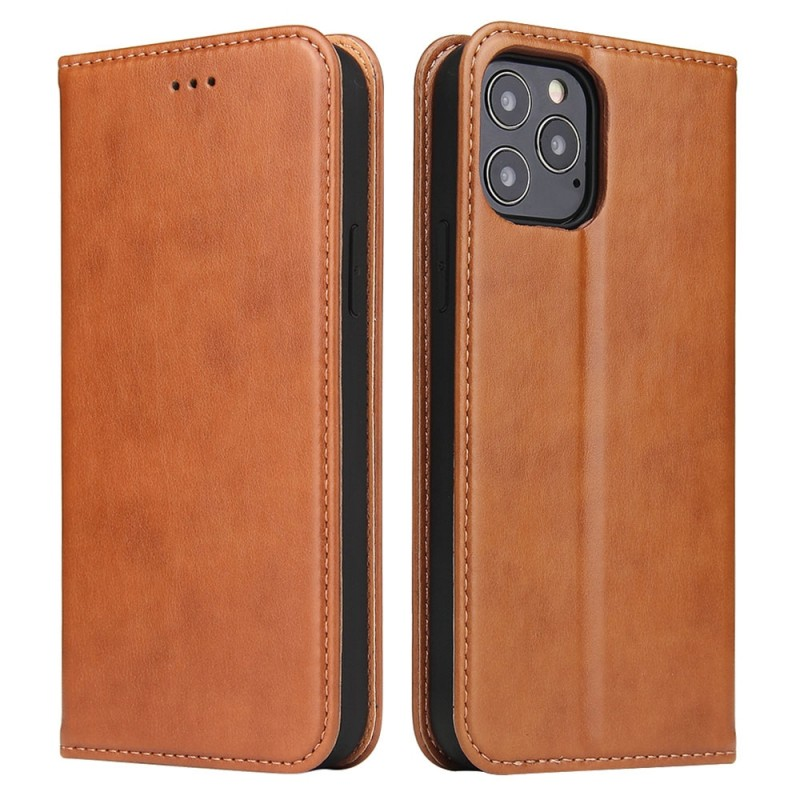 Mobiq Premium Lederen Portemonnee Hoesje iPhone 13 Mini Bruin - 6