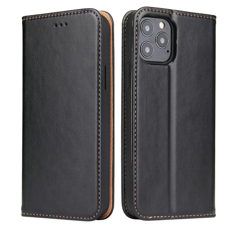 Mobiq Premium Lederen Portemonnee Hoesje iPhone 13 Mini Zwart - 6