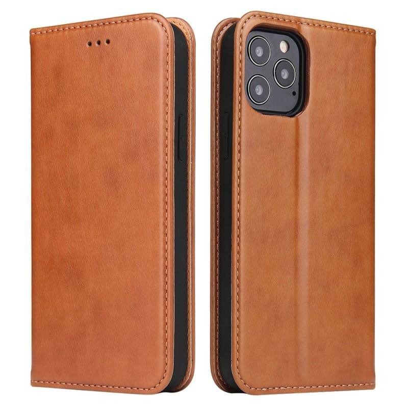 Mobiq Premium Lederen Portemonnee Hoesje iPhone 13 Pro Bruin - 5