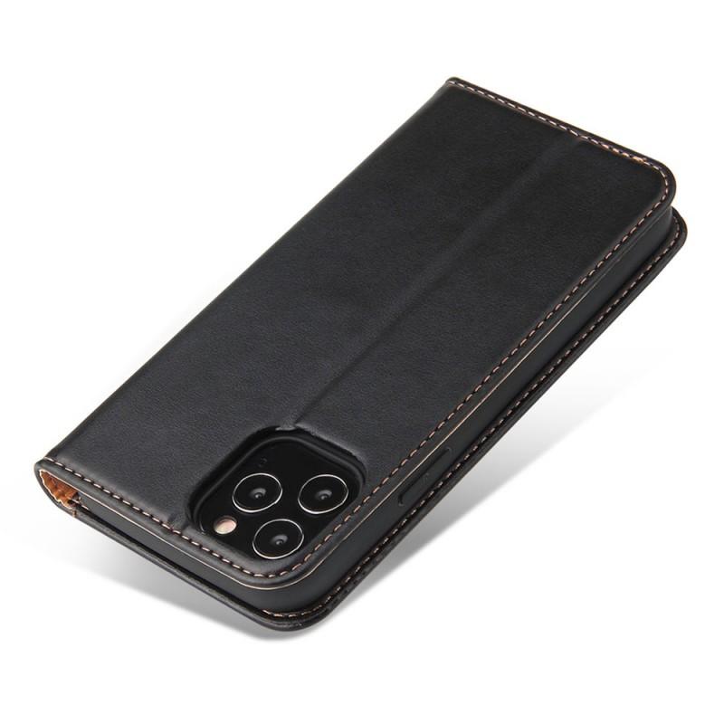 Mobiq Premium Lederen Portemonnee Hoesje iPhone 13 Pro Max Zwart - 5