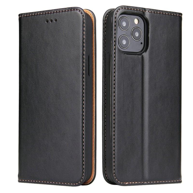 Mobiq Premium Lederen Portemonnee Hoesje iPhone 13 Pro Max Zwart - 6