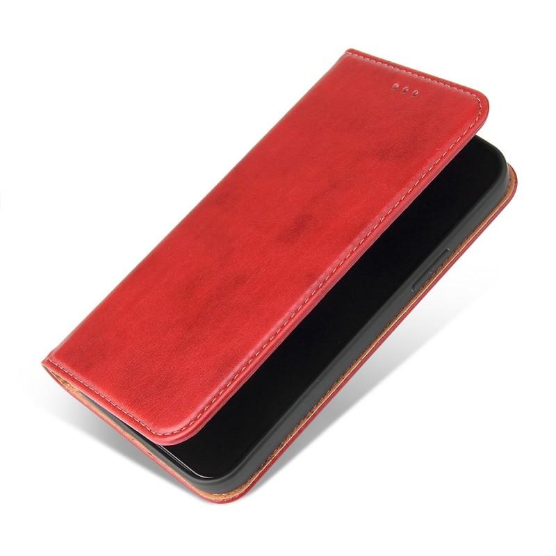 Mobiq Premium Lederen Portemonnee Hoesje iPhone 13 Pro Rood - 4