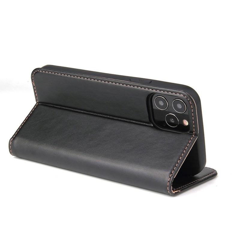 Mobiq Premium Lederen Portemonnee Hoesje iPhone 13 Zwart - 3