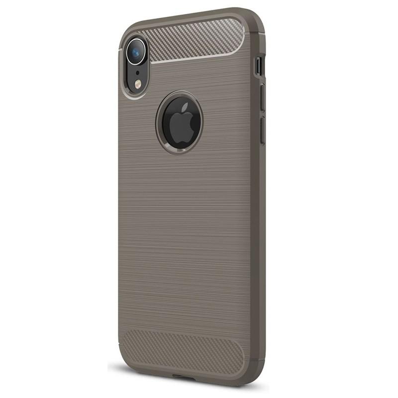 Mobiq Rugged Armor Case iPhone XR Grijs 01