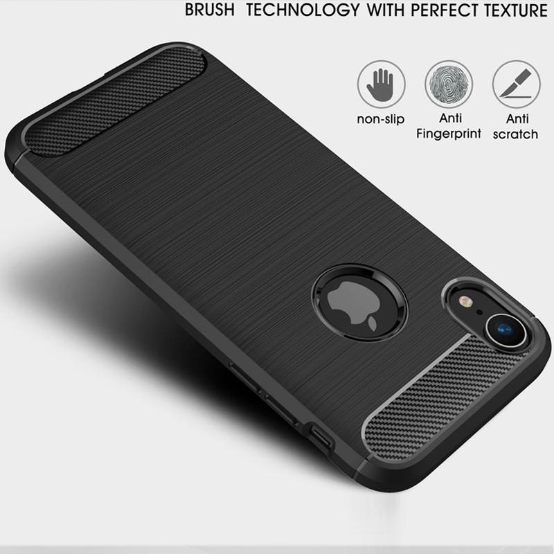 Mobiq Rugged Armor Case iPhone XR Grijs 02