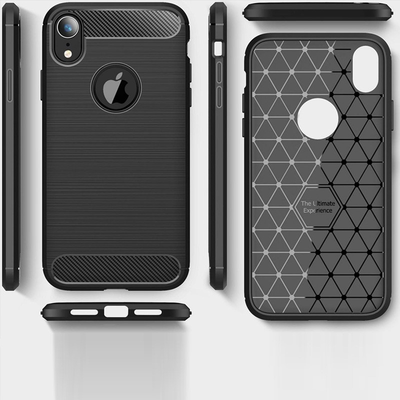 Mobiq Rugged Armor Case iPhone XR Zwart 04