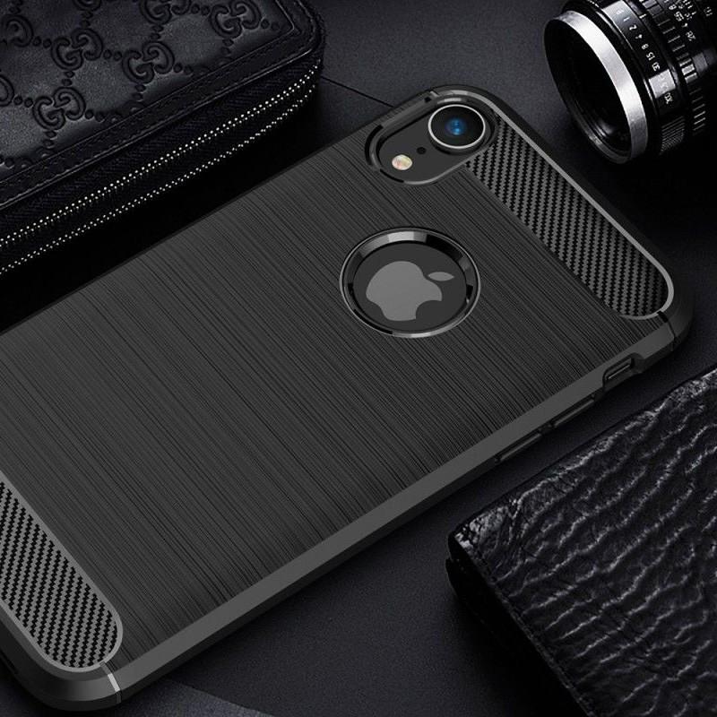 Mobiq Rugged Armor Case iPhone XR Grijs 06