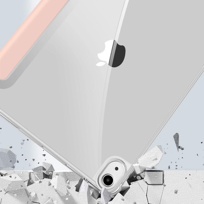 Mobiq Clear Back Folio iPad Air 10.9 (2020) Grijs - 6