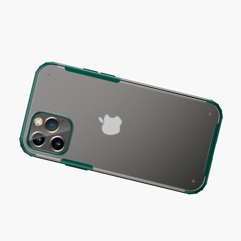 Mobiq Clear Hybrid Case iPhone 12 / 12 Pro 6.1 Groen - 2