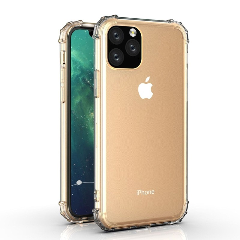 Mobiq Clear Rugged Case iPhone 11 Pro - 1