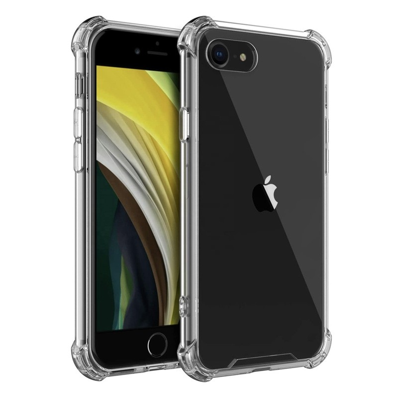 Mobiq Clear Rugged Case iPhone SE (2020)/8/7 - 1