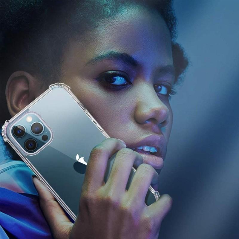 Mobiq Clear Rugged TPU Hoesje iPhone 12 Mini - 2