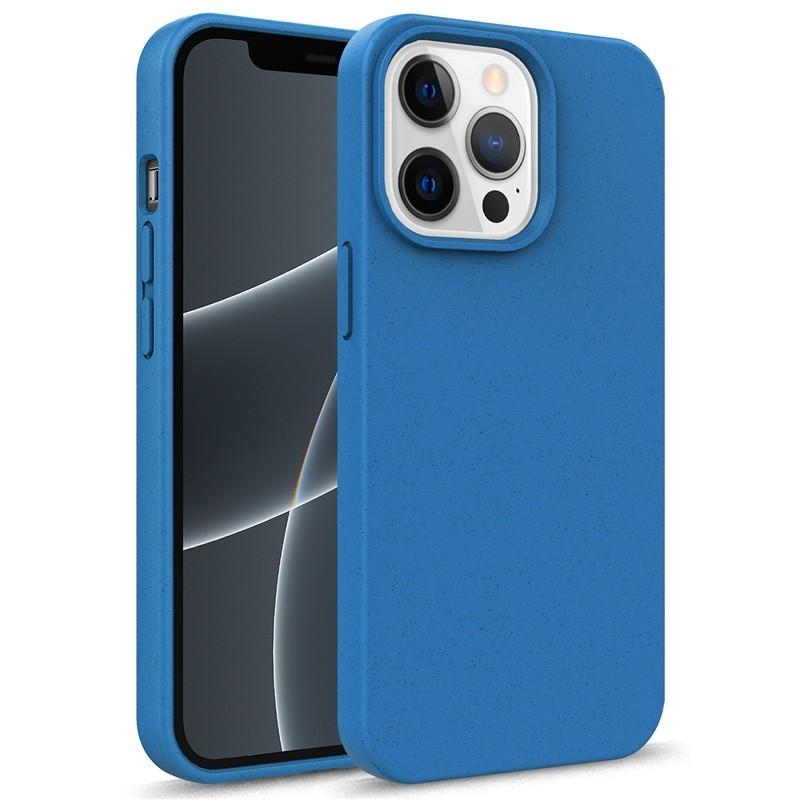 Mobiq Flexibel Eco Hoesje TPU iPhone 13 Pro Blauw - 1