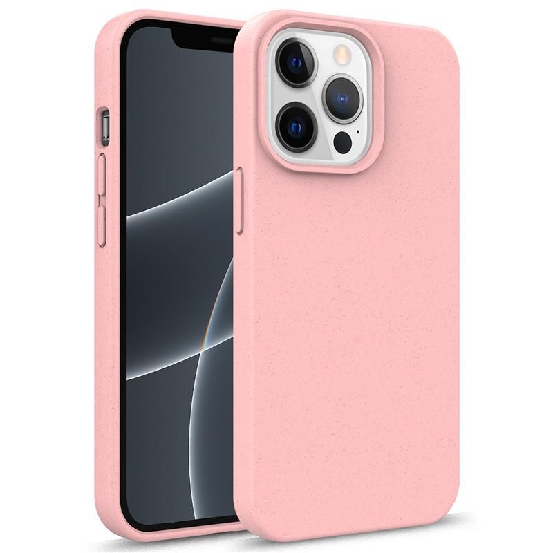 Mobiq Flexibel Eco Hoesje TPU iPhone 13 Pro Roze - 1