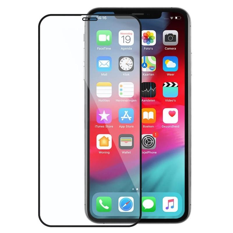 Mobiq Edge-to-edge Protector iPhone XS Max - 1