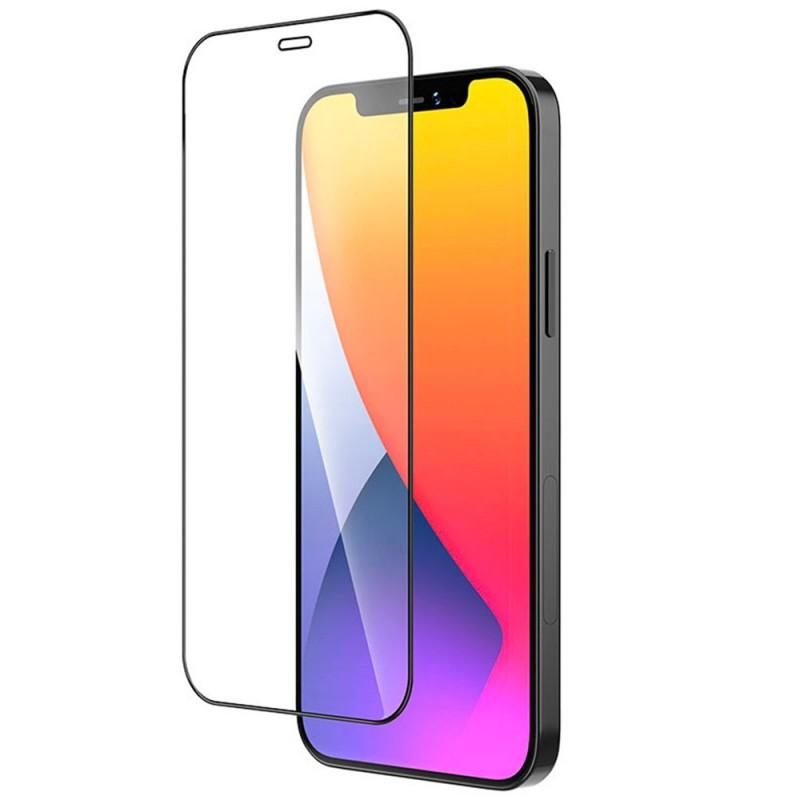 Mobiq Edge-to-Edge Screenprotector iPhone 12 / 12 Pro 6.1 inch