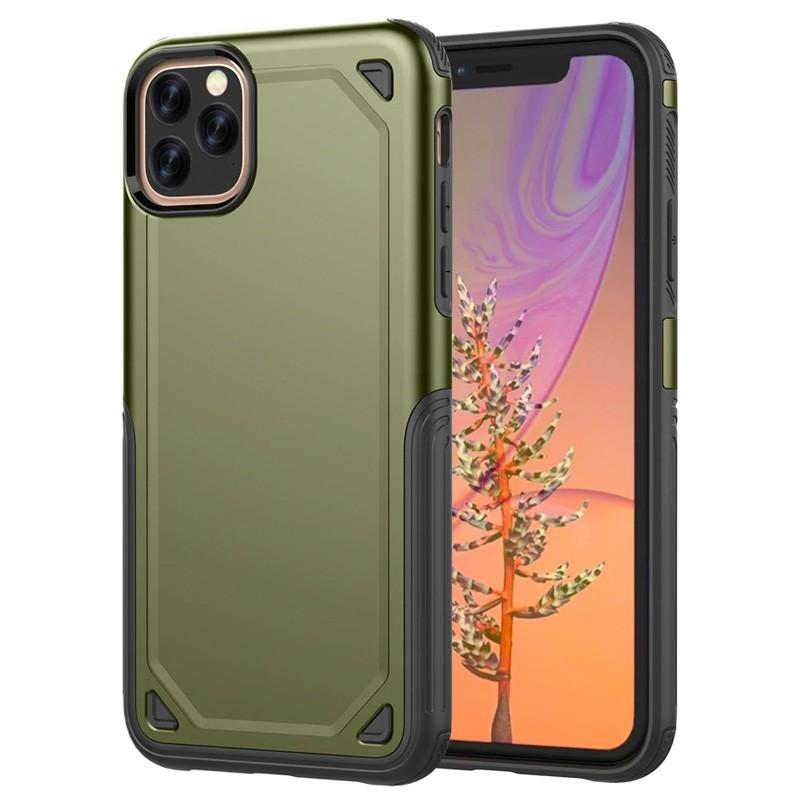 Mobiq extra beschermend iPhone 11 hoesje groen - 1