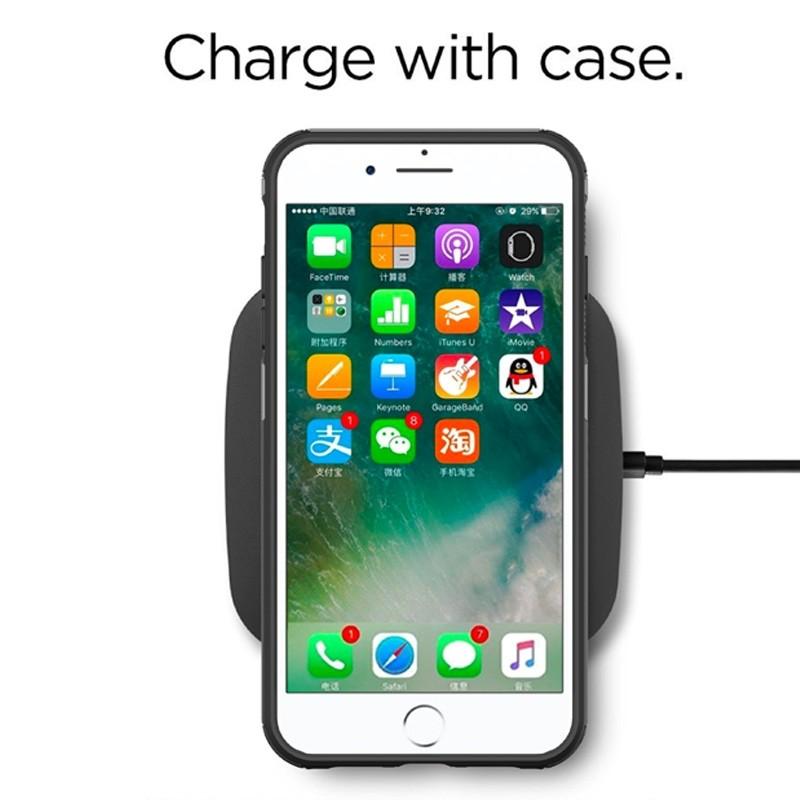 Mobiq Extra Stevig Hoesje iPhone 8 Plus/7 Plus Grijs - 2