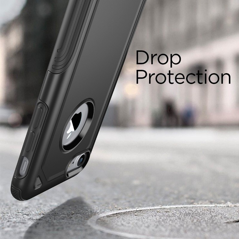 Mobiq Extra Stevig Hoesje iPhone SE (2020)/8/7 Zilver - 4