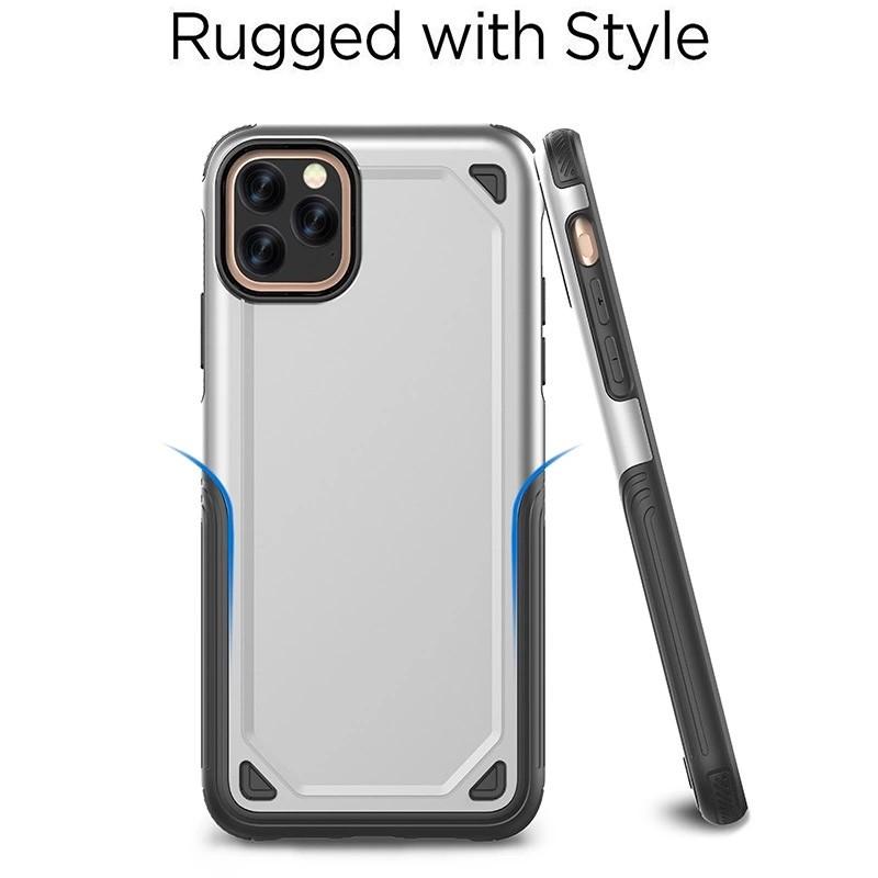 Mobiq Extra Beschermend Hoesje iPhone 12 /12 Pro Rood - 3