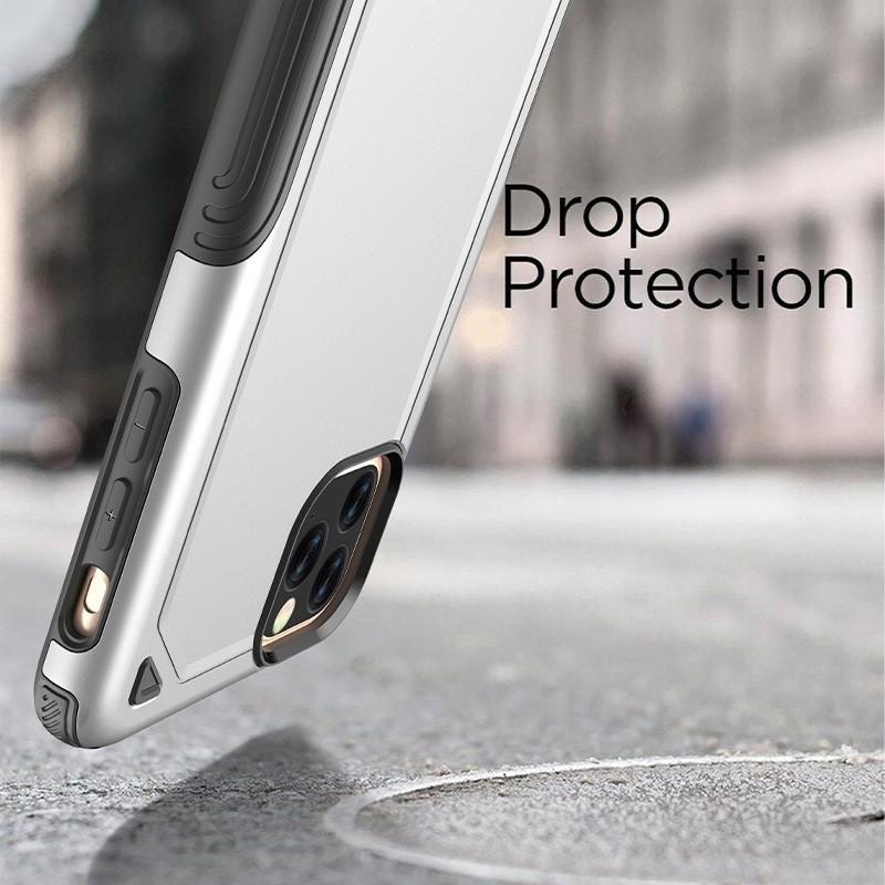 Mobiq Extra Beschermend Hoesje iPhone 12 /12 Pro Rood - 2