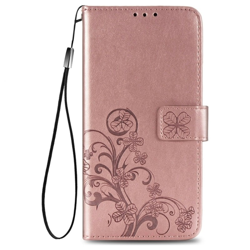 Mobiq Fashion Wallet Book Cover iPhone 12 Mini Rose Gold - 1