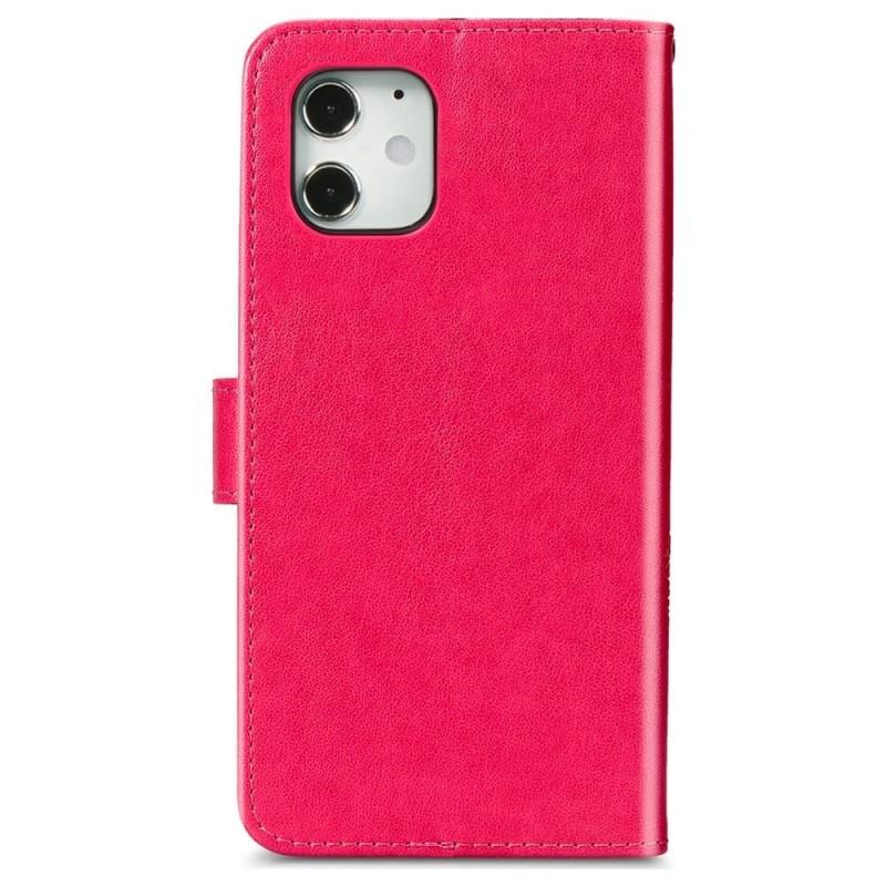 Mobiq Fashion Wallet Book Cover iPhone 12 Mini Roze - 2