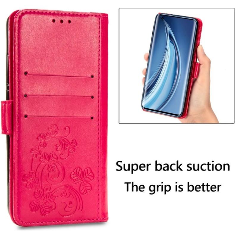 Mobiq Fashion Wallet Book Cover iPhone 12 Mini Grijs - 5