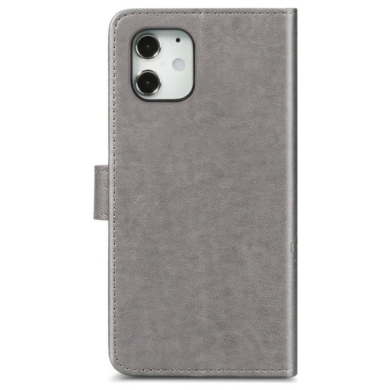Mobiq Fashion Wallet Book Cover iPhone 12 Pro Max Grijs - 3
