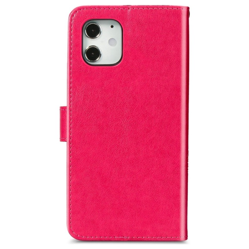 Mobiq Fashion Wallet Book Cover iPhone 12 6.1 Roze - 2