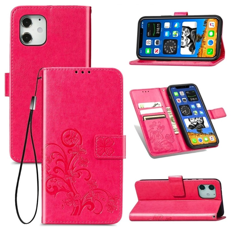 Mobiq Fashion Wallet Book Cover iPhone 12 6.1 Roze - 3