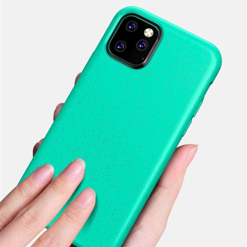 Mobiq Flexibel Eco Hoesje iPhone 11 Blauw - 2