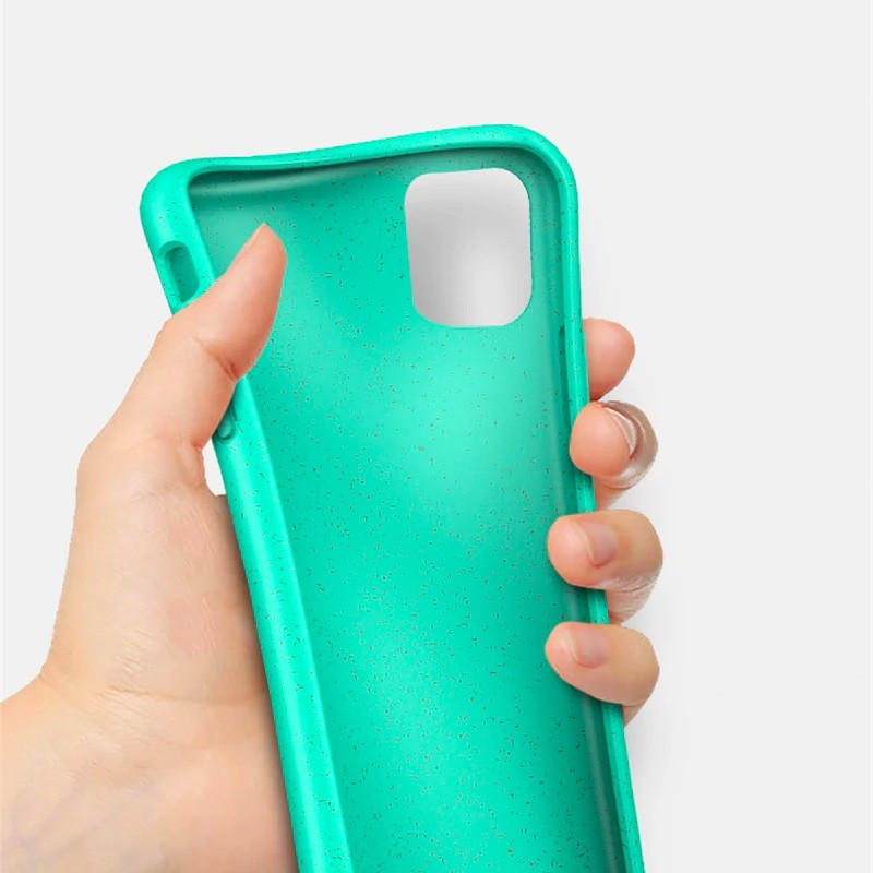 Mobiq Flexibel Eco Hoesje iPhone 11 Pro Blauw - 3
