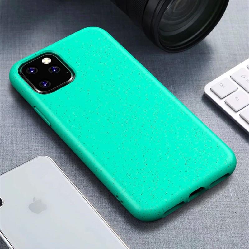 Mobiq Flexibel Eco Hoesje iPhone 11 Pro Groen - 1