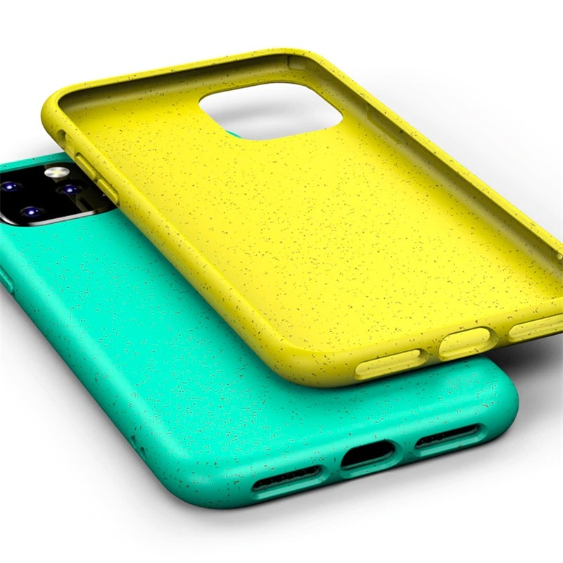 Mobiq Flexibel Eco Hoesje iPhone 11 Pro Max Geel - 4