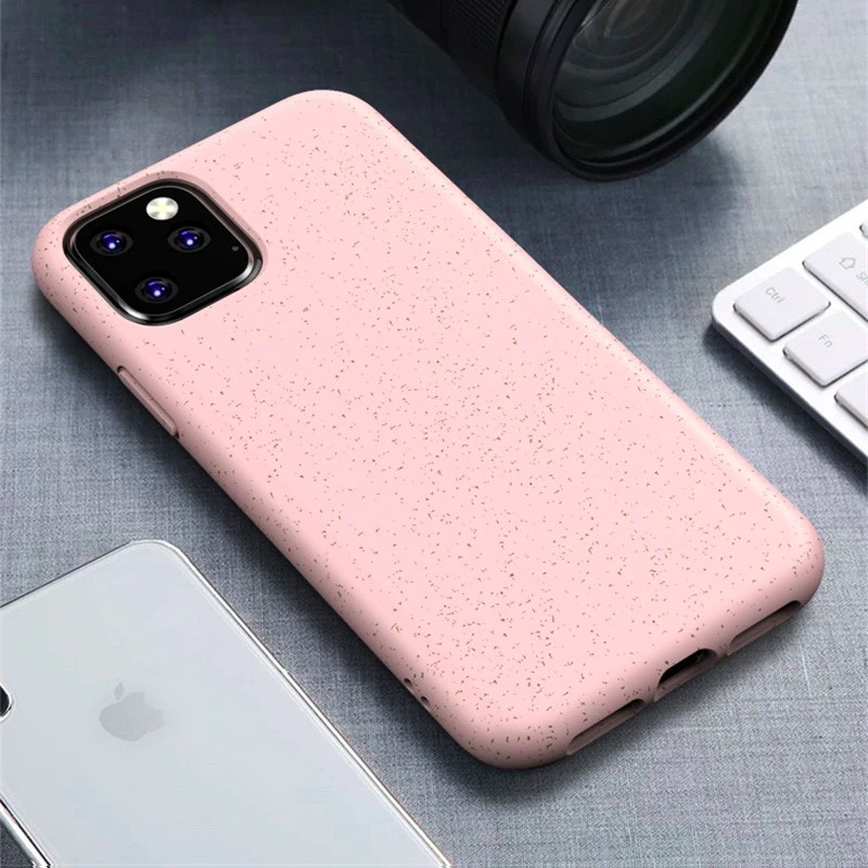Mobiq Flexibel Eco Hoesje iPhone 11 Pro Roze - 1