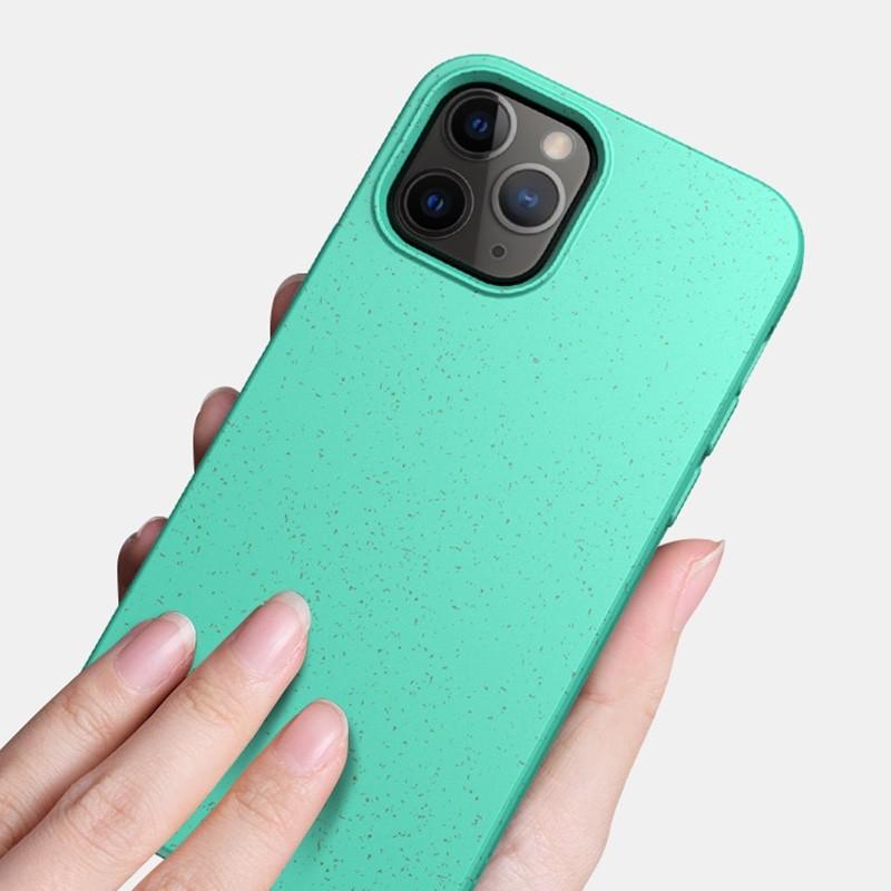 Mobiq Flexibel Eco Hoesje iPhone 12 6.1 inch Geel - 2