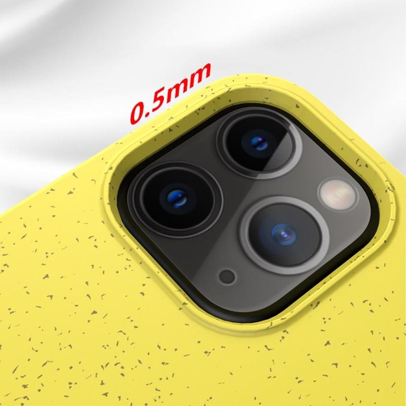 Mobiq Flexibel Eco Hoesje iPhone 12 6.1 inch Geel - 5