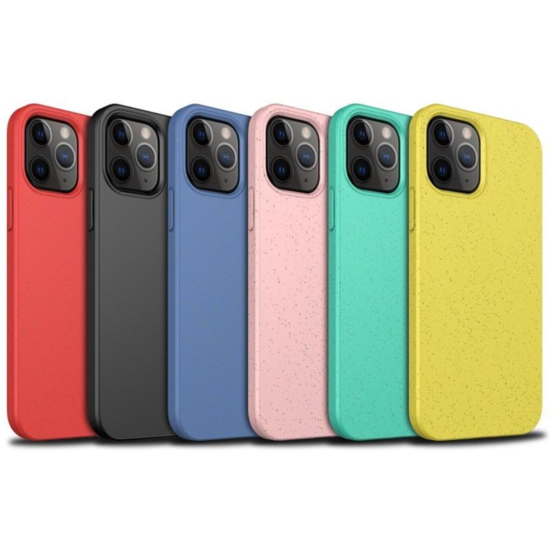 Mobiq Flexibel Eco Hoesje iPhone 12 6.1 inch Geel - 6