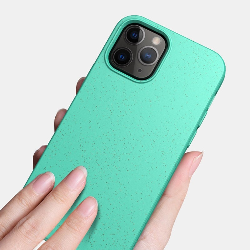 Mobiq Flexibel Eco Hoesje iPhone 12 Pro Max Blauw - 2