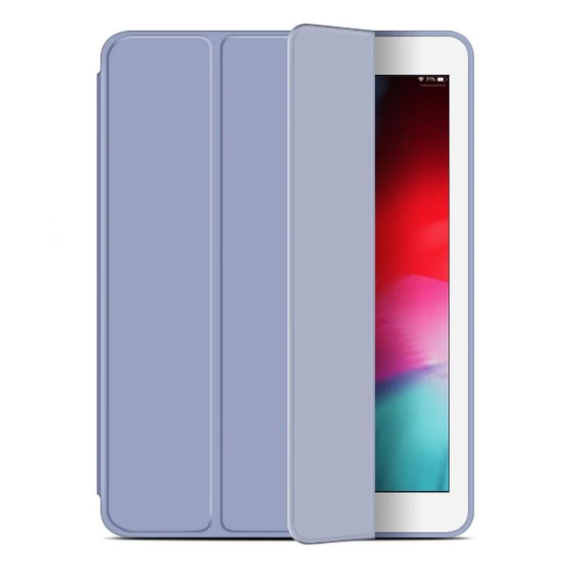 Mobiq Flexibele Tri-folio hoes iPad Air 10.5 Paars 01