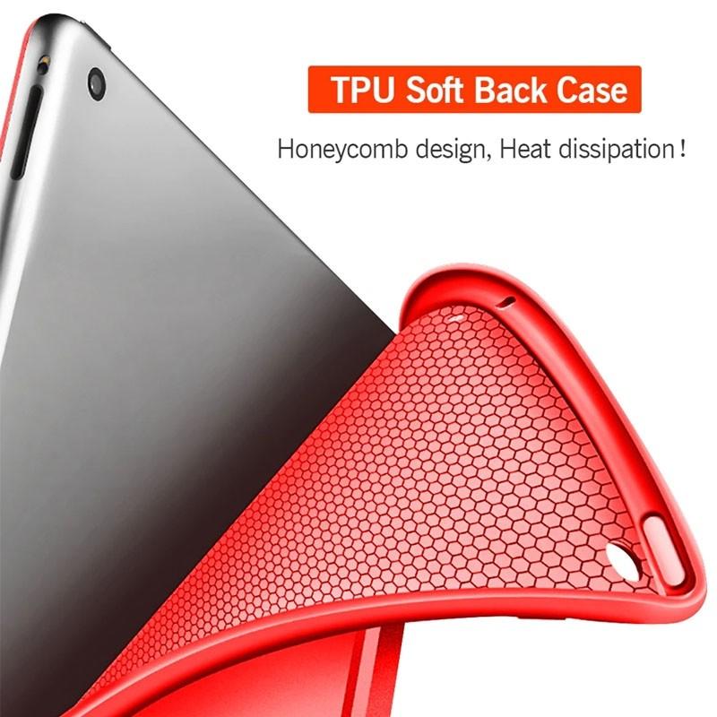 Mobiq Flexibele Tri-folio hoes iPad Air 10.5 Zwart 04