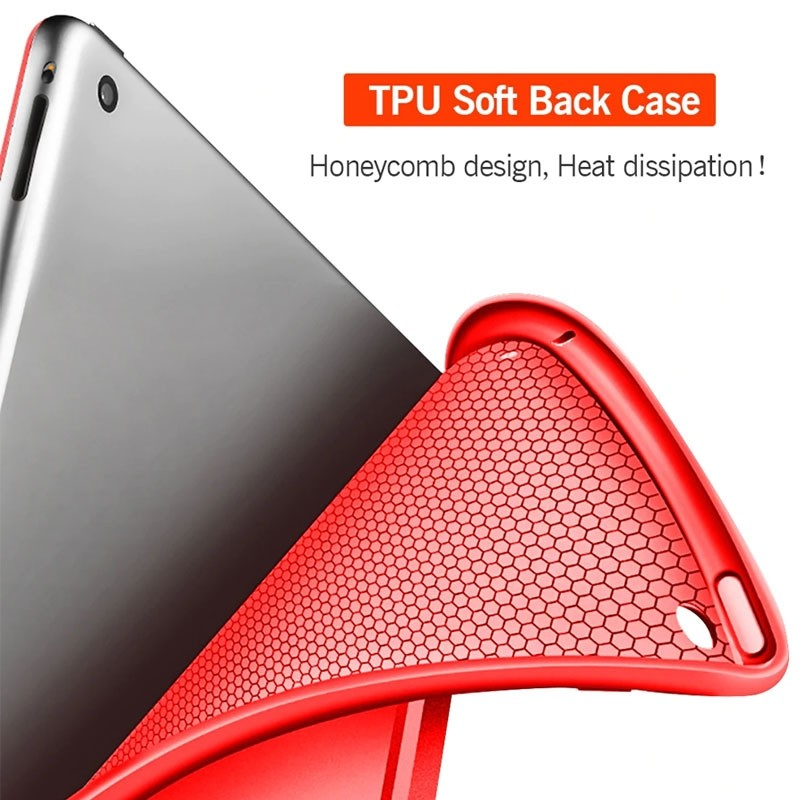 Mobiq Flexibele Tri-folio hoes iPad Air 10.5 Paars 04