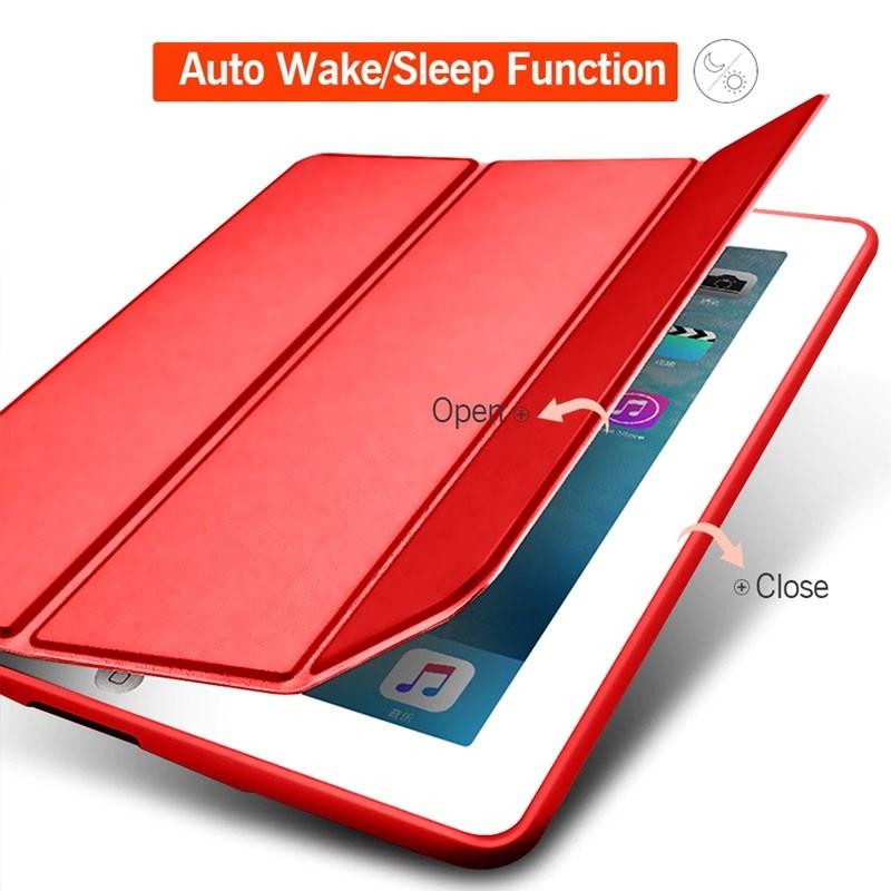 Mobiq Flexibele Tri-folio hoes iPad Air 10.5 Turquoise 03